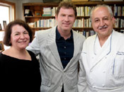 "Food Network's star ""Iron Chef"" Bobby Flay"