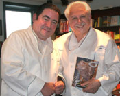 Chef Silvio Suppa with TV Food Star Emeril Lagasse